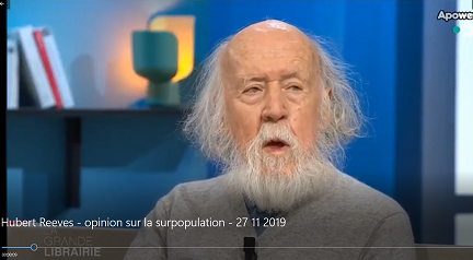 Hubert Reeves en 2019